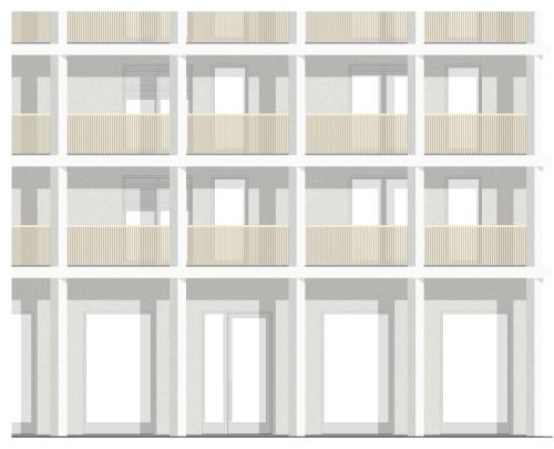 MCL Fassadenausschnitt