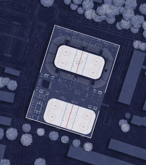 Eishalle Villach_Lageplan_PENTAPLAN